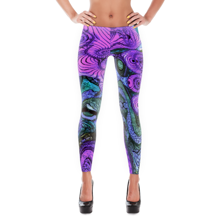 Pink and Purple Haze Leggings
