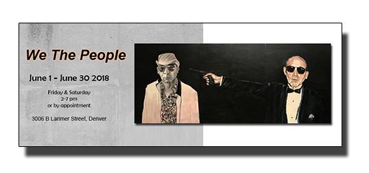 We The People 2018 m. Romero Gallery, Denver, Colorado.