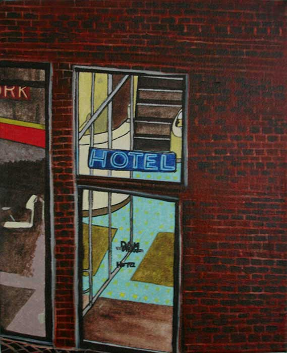 Dam Straat Hotel